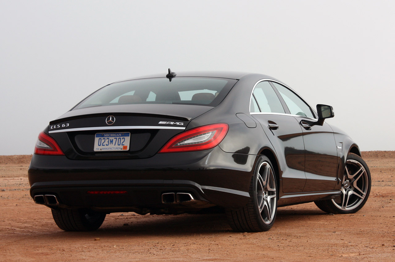 Car al Top 33: MERCEDES CLS 63 AMG 2012 USA