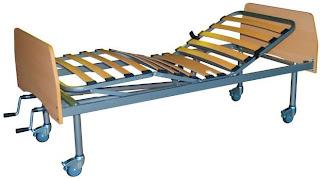 camas articuladas ou hospitalares manual básica