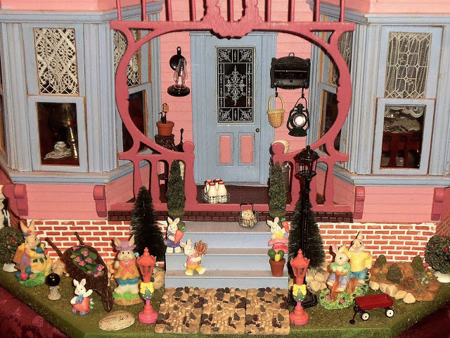 Easter Doll House