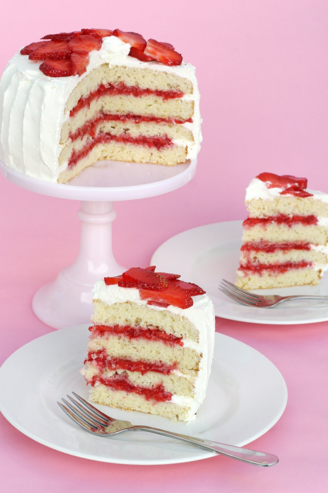 Strawberry Shortcake… Cake – Glorious Treats
