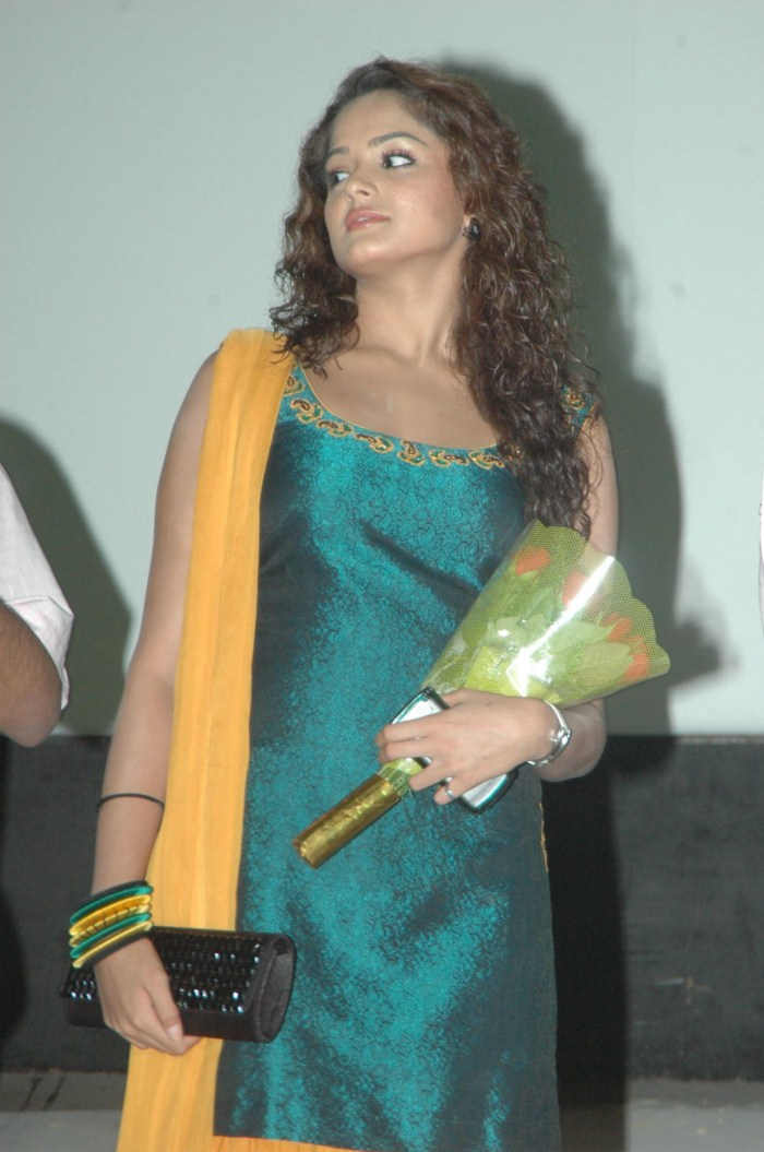 Asmita Sood Cute Pics At Brahmi Gaadi Katha Platinam Disc Function