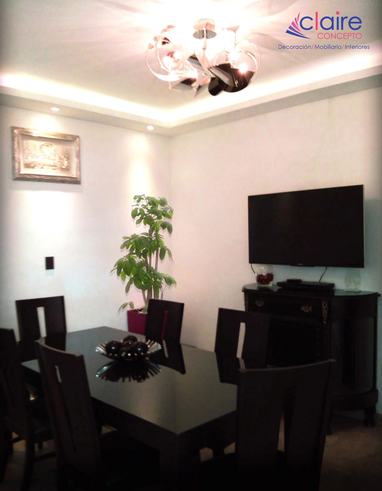 Remodelaci n de casas plafones de tablaroca muebles - Muros decorativos para interiores ...