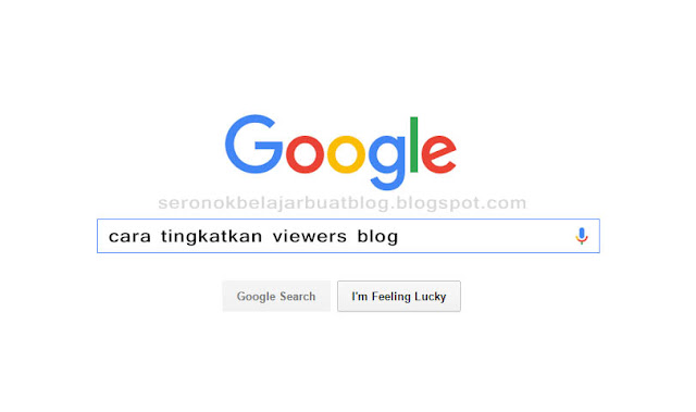 CARA TAMBAH VIEWERS DI BLOG ! VIRAL !