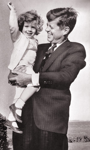Caroline President John F. Kennedy daughter - baby photos of famous people