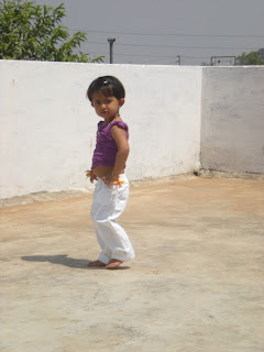 dancing pose of a kid