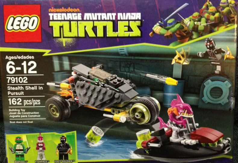 The Minifigure Collector: Lego and Mega Bloks- Teenage Mutant Ninja ...