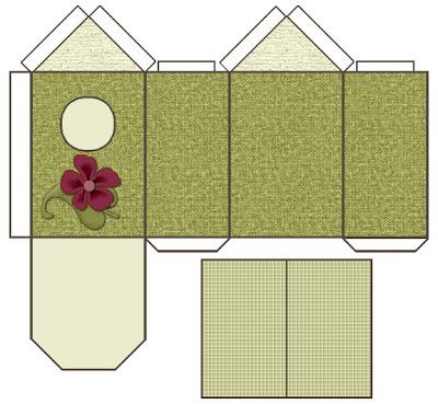 Iris sous mon arbre maisons en papier - Site de bricolage maison ...
