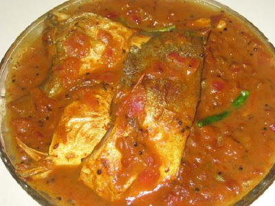south indian fish with tamarind