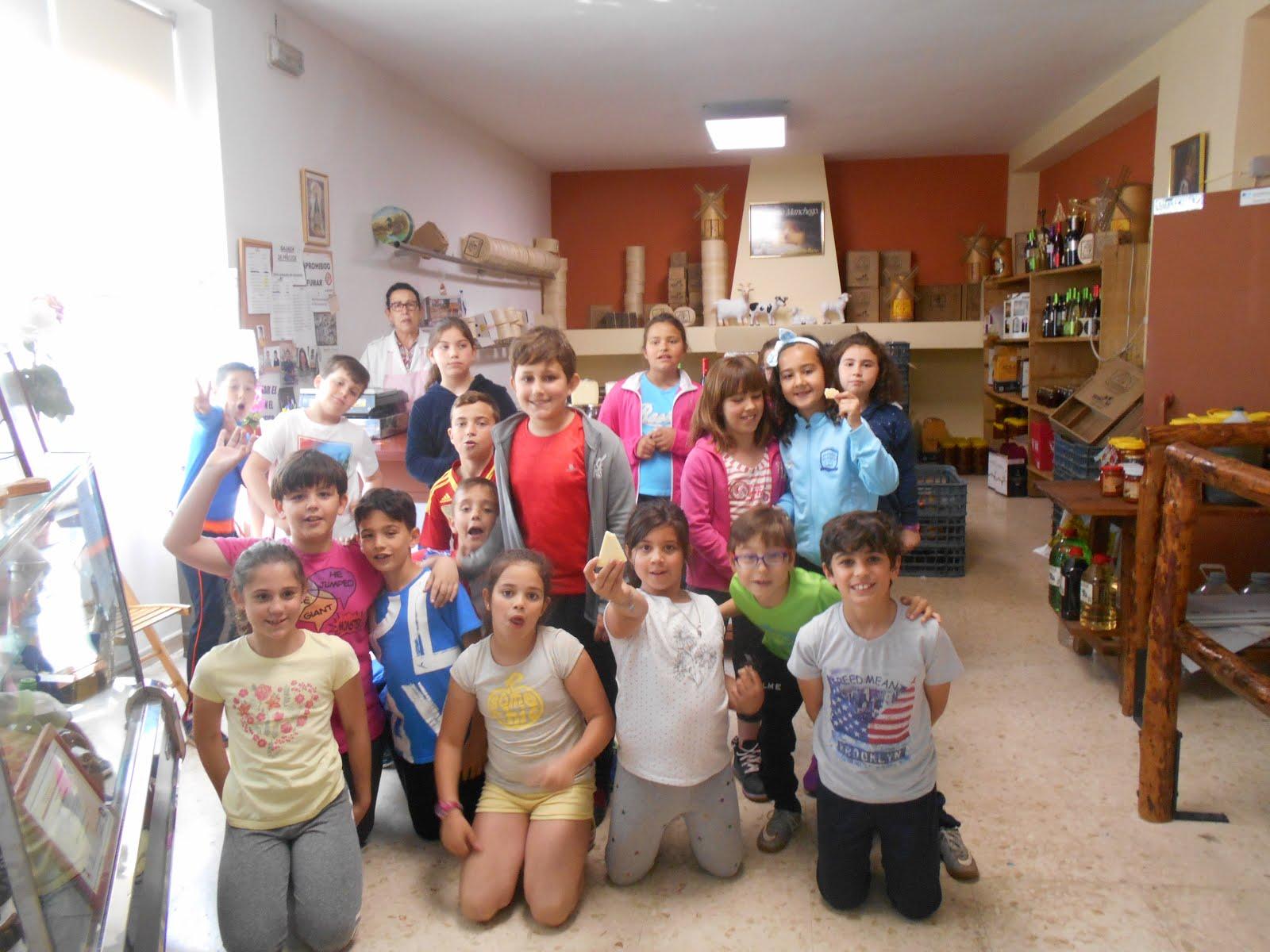 3º A visitamos QUESOS VILLASIERRA