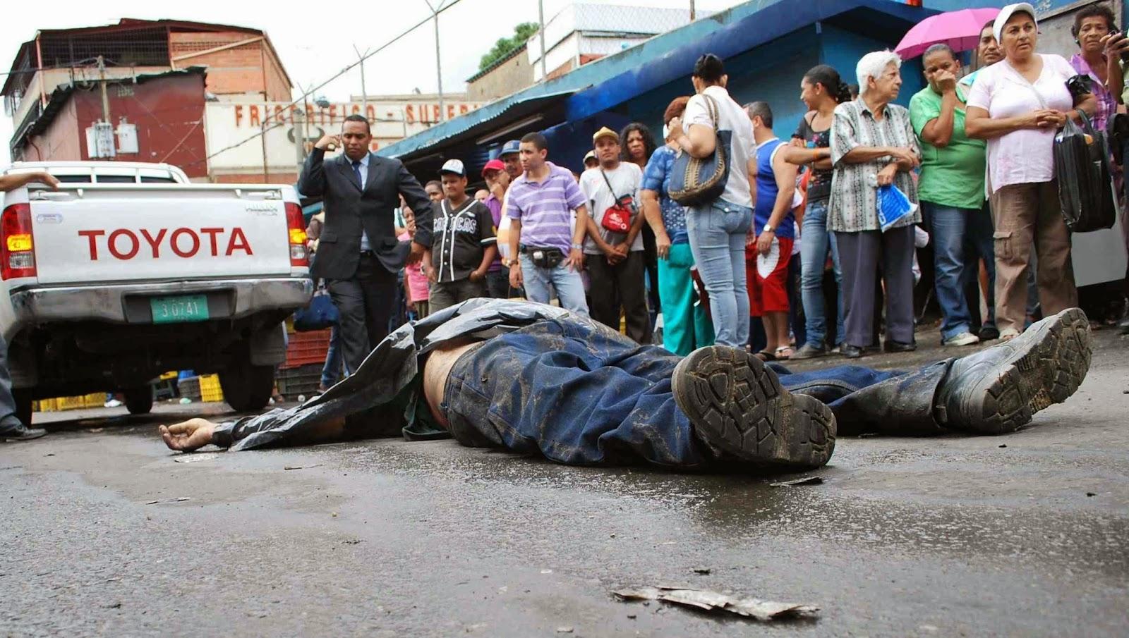 en el 2014 hubieron 25000 asesinatos en venezuela