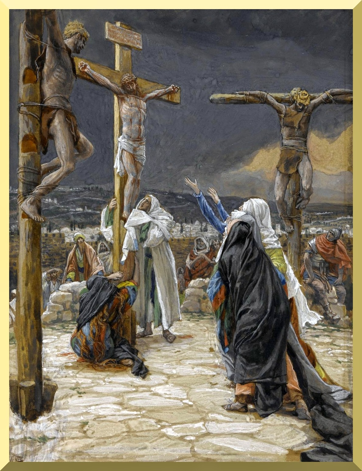 """The Death of Jesus"" -- by James Tissot"
