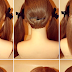 DIY: How to Stunning Roll Up Wedding Updo Hairstyle - Tutorial