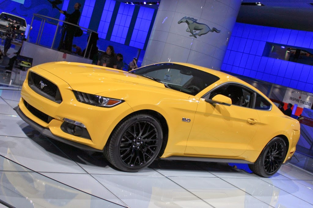 Ford Mustang 2015 - Actualité Automobile
