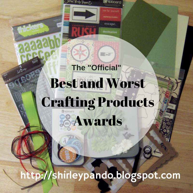 Best and Worst Crafting Products Awards