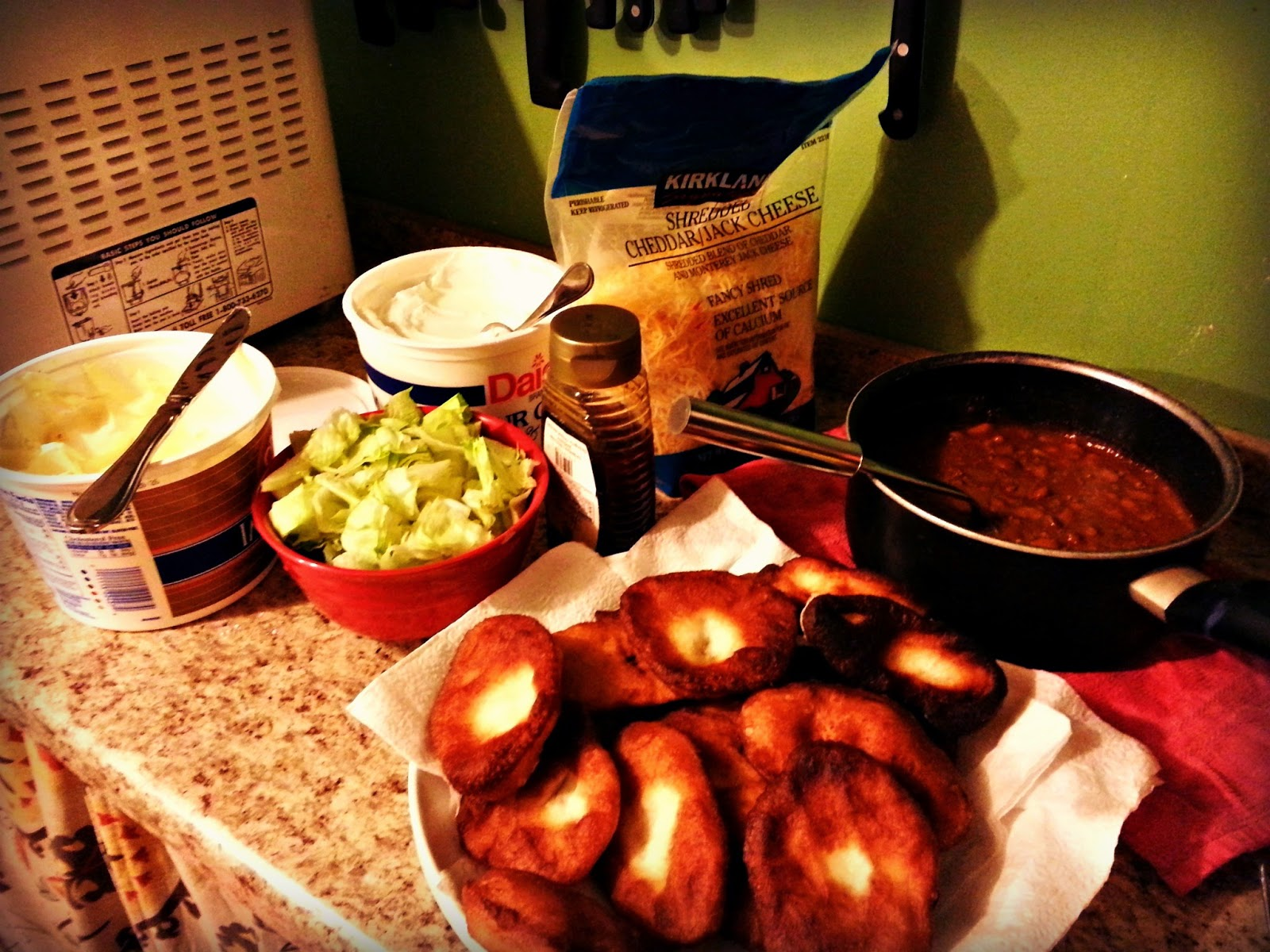 Family Meals on a Budget: Week 1 & 2 Chili and Fried Dough