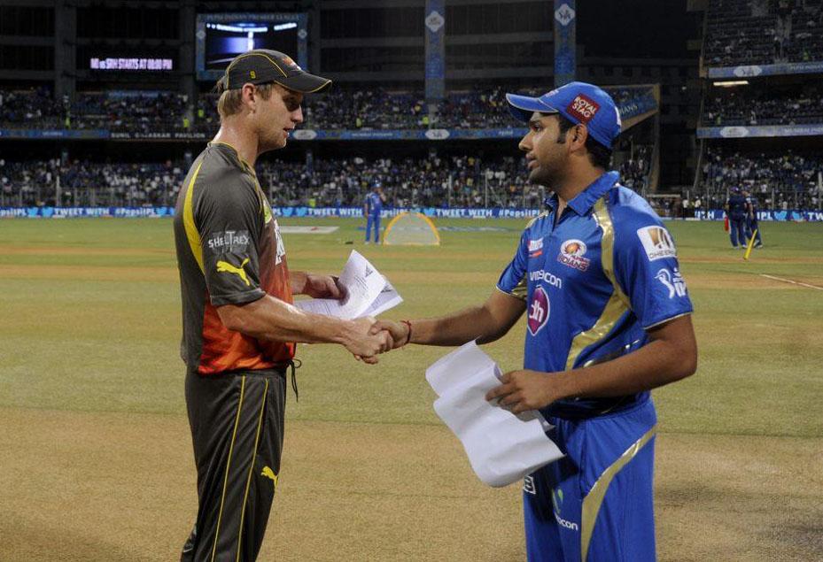 Cameron-White-Rohit-sharma-MI-vs-SRH-IPL-2013