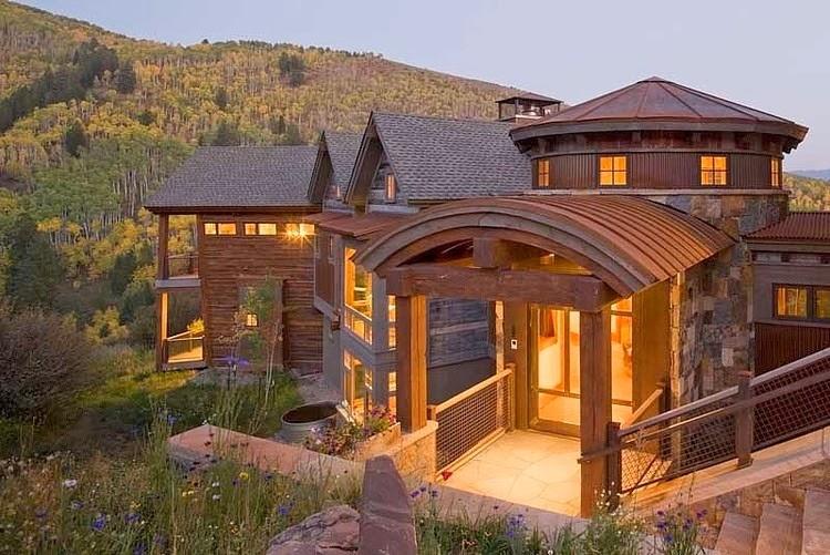 Casa en una montaña2