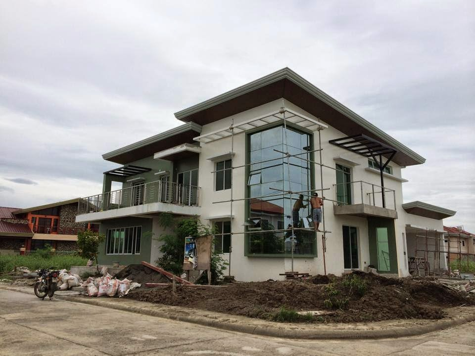 Westwood subd house construction project in mandurriao for Three storey house designs in the philippines