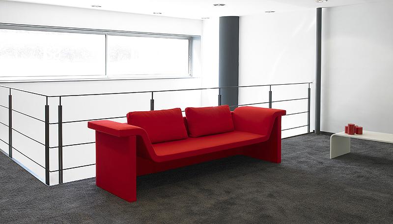 Zas la primera colaboraci n entre josep llusc y rafemar interiores minimalistas - Rafemar sofas ...