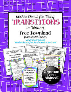 Common Core Writing: Transitions FREE download