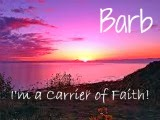 Carriers of Faith