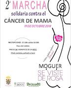 2ª MARCHA solidaria contra el CÁNCER DE MAMA