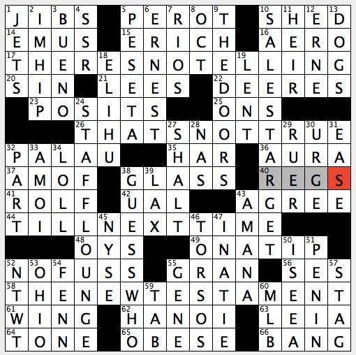 Rex Parker Does The NYT Crossword Puzzle 2005 Survivor