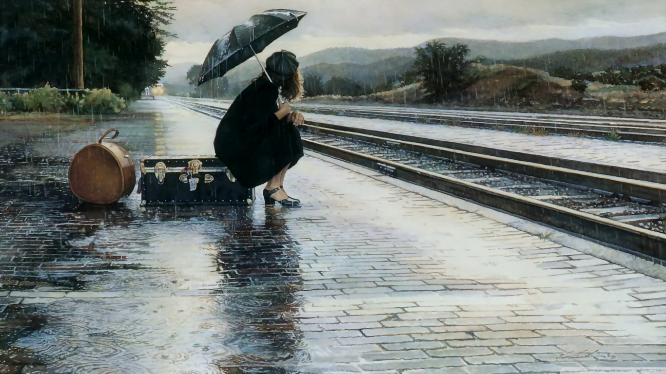 Fantastic Wallpaper High Quality Rainy Day - waiting_for_a_train_in-the-rainy-day  Collection_444064.jpg