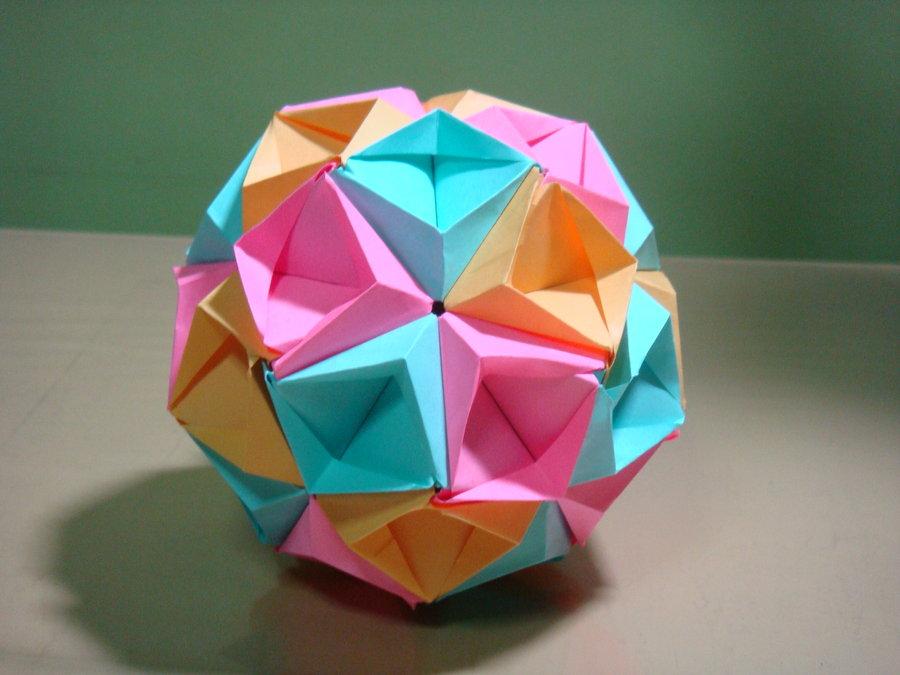 Origami Star Sea Kusudama By Tomoko Fuse