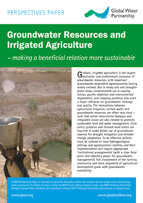 Groundwater Resources and  Irrigated Agriculture – making a beneficial relation more sustainable