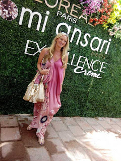 Nomi Ansari. Ambassador of fashion, Shaniera Akram, Gemstone Collection, Color Story, L'oreal Paris Pakistan, L'oreal creme excellence, Sworovski, silk prints, floral, spring, ss15, fashion, fashion blog, fashion blog of pakistan, top fashion blog, fashion news, luxury pret