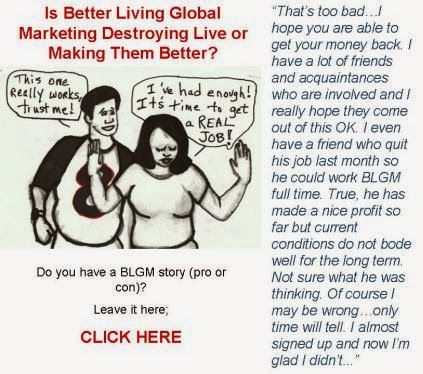 Better Living Global Marketing Scam