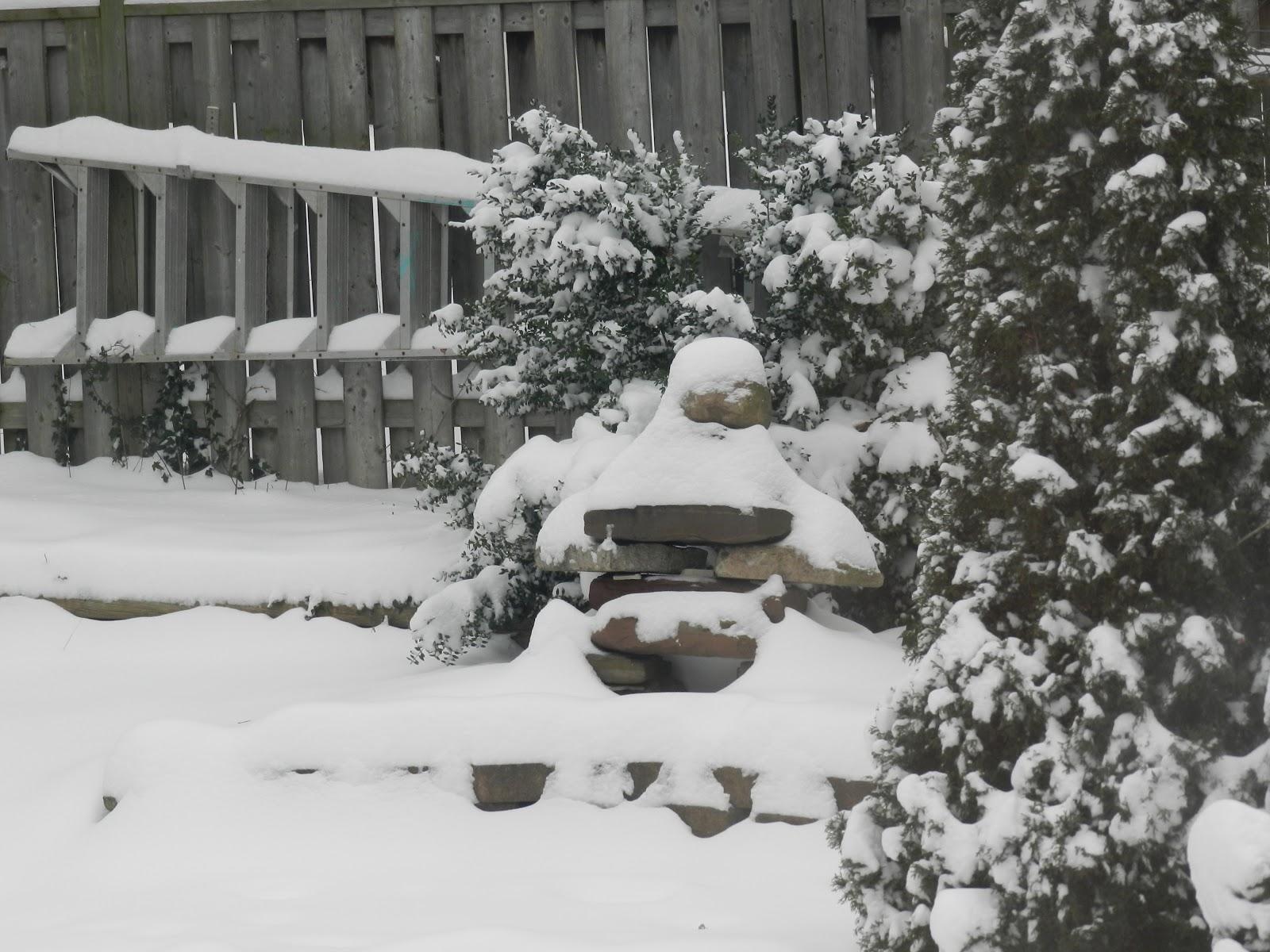 Peering Through a Porthole: Christmas Snow