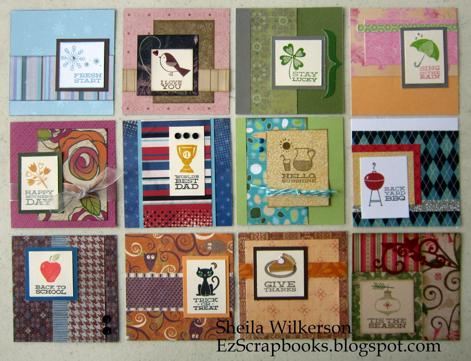 Calendar Square Ideas : Scrapbooking and other tidbits bonus workshop calendar