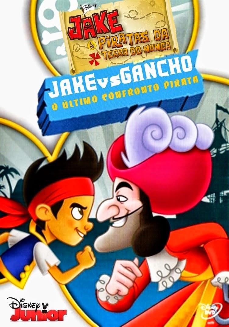 Jake e Os Piratas da Terra do Nunca: Jake x Capitão Gancho – Dublado (2014)