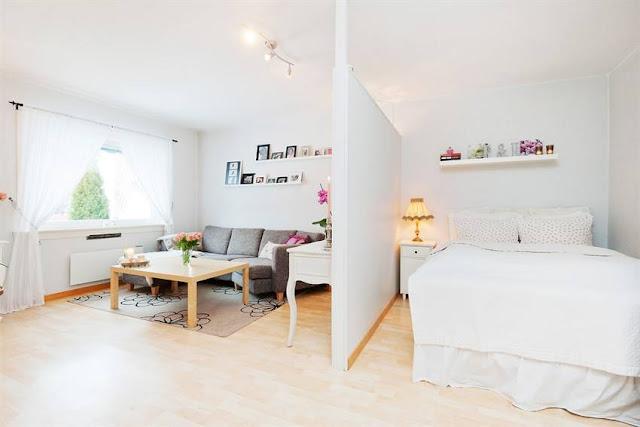 Decora o para apartamentos pequenos - Mini apartamentos ...