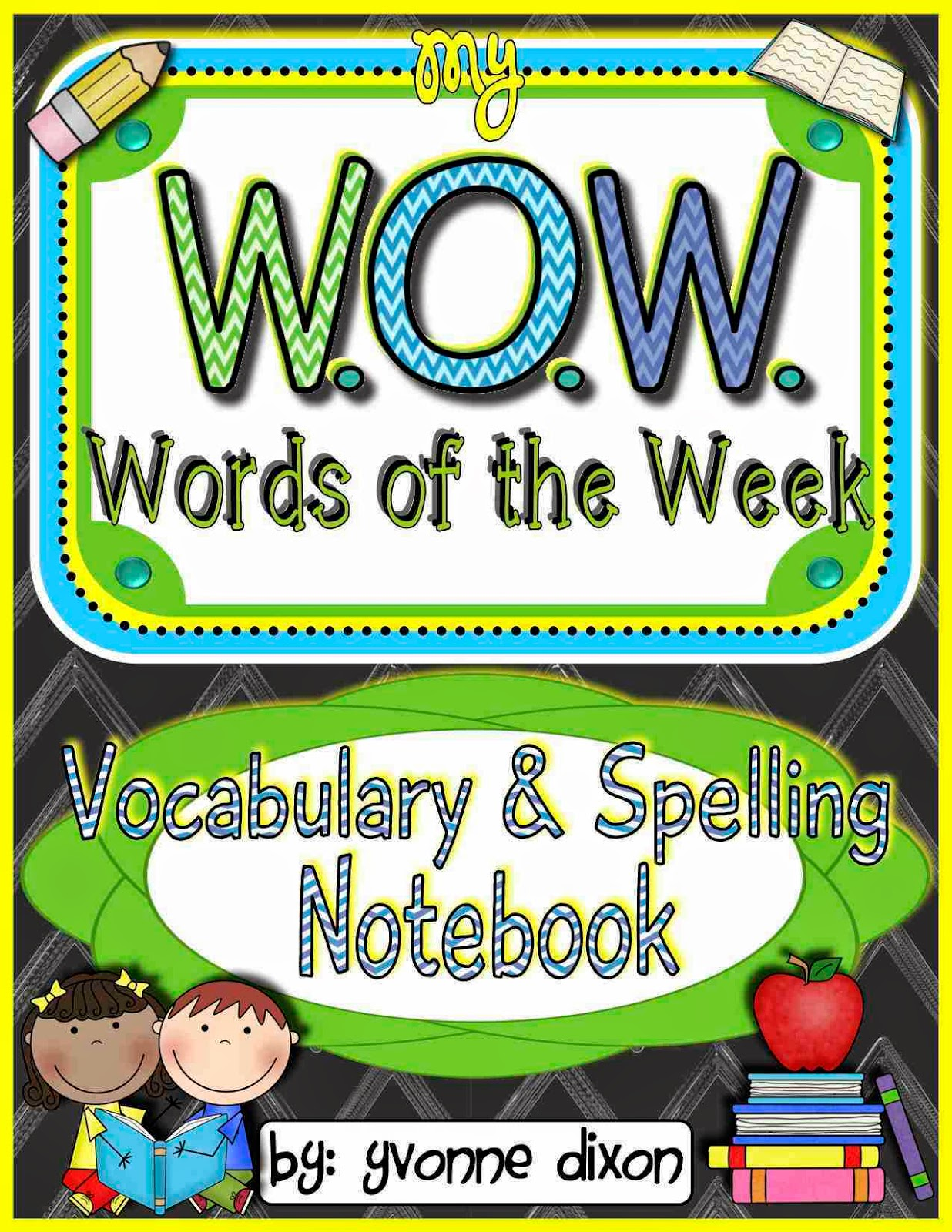 http://www.teacherspayteachers.com/Product/WOW-Words-of-the-Week-Vocabulary-and-Spelling-Interactive-Notebook-1357208