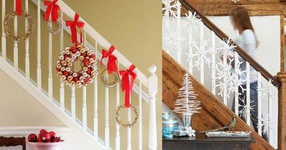 Como decorar escaleras para navidad decoraci n del hogar for Decoracion hogar diseno