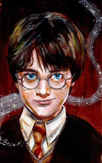 Harry potter amazing paintings : Digital Art