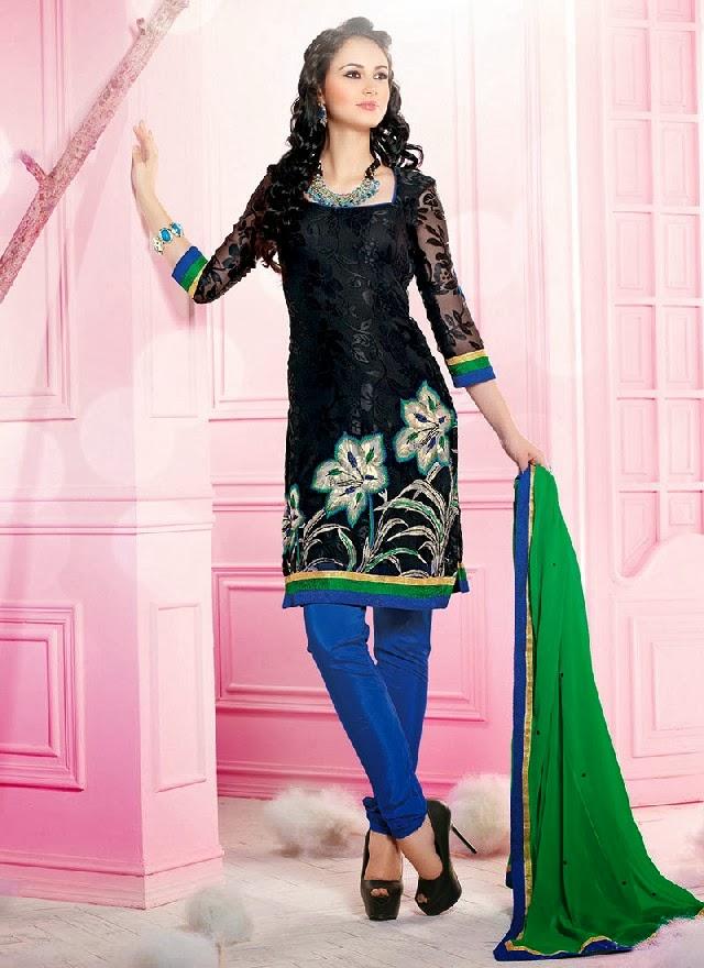 Best indian churidar salwar kameez suits georgette churidar suits