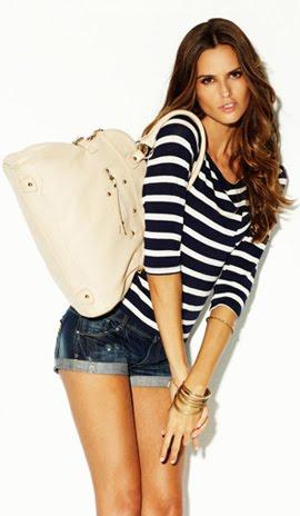 colección denim primavera verano 2012 Blanco catálogo jeans mujer