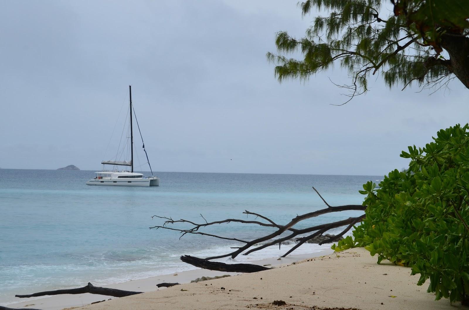 Notre catamaran - Ile Cousin