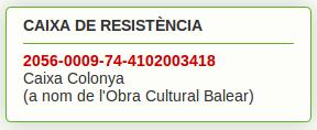 CAIXA DE RESISTÈNCIA