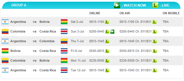 Keputusan copa america 1 julai 2011 argentina 1 - bolivia 1, jadual perlawanan copa america 2011 waktu malaysia, video perlawanan argentina vs bolivia
