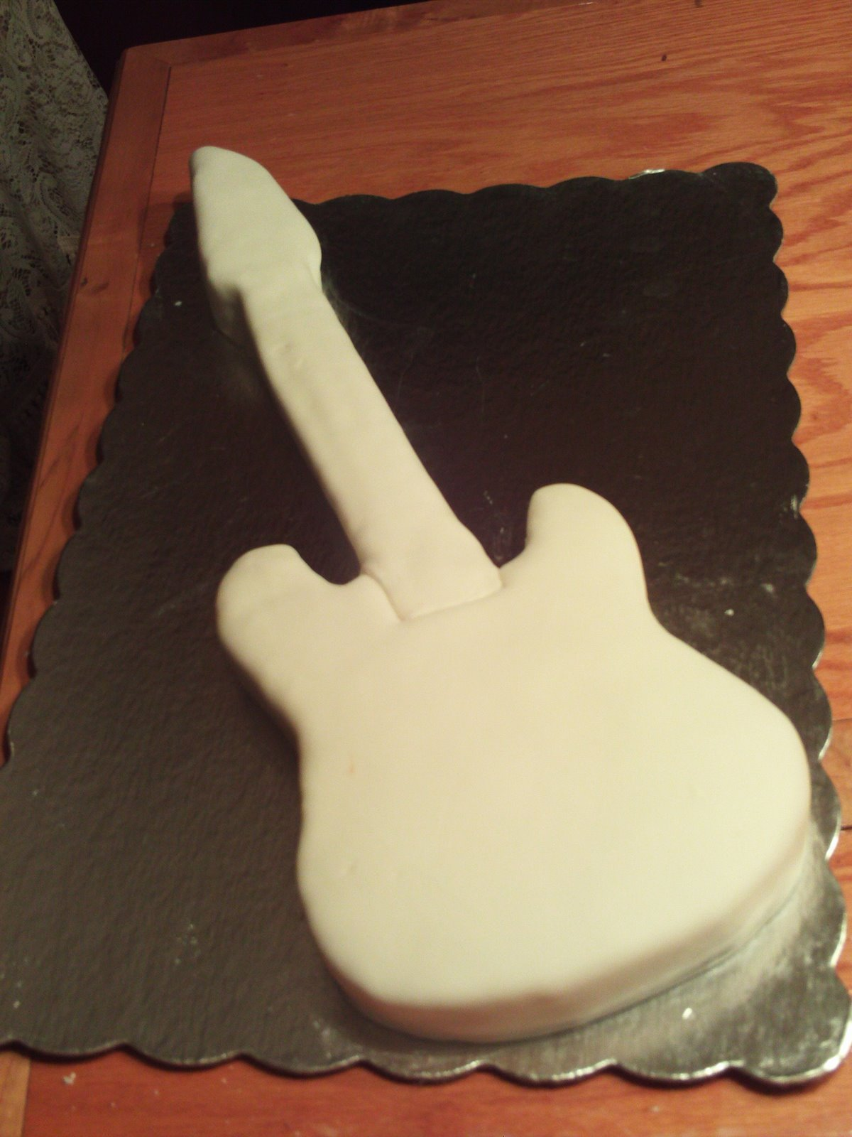 The Creative Cake Maker Rock N Roll Electric Guitar Birthday Cake