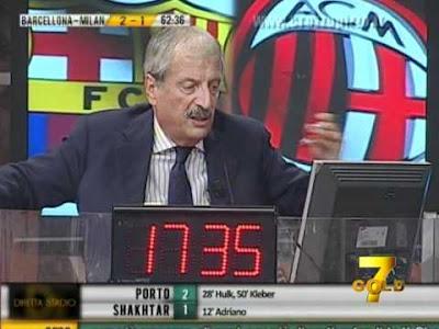 Barcellona Milan 2-2 Crudeli