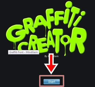 começa a grafitar