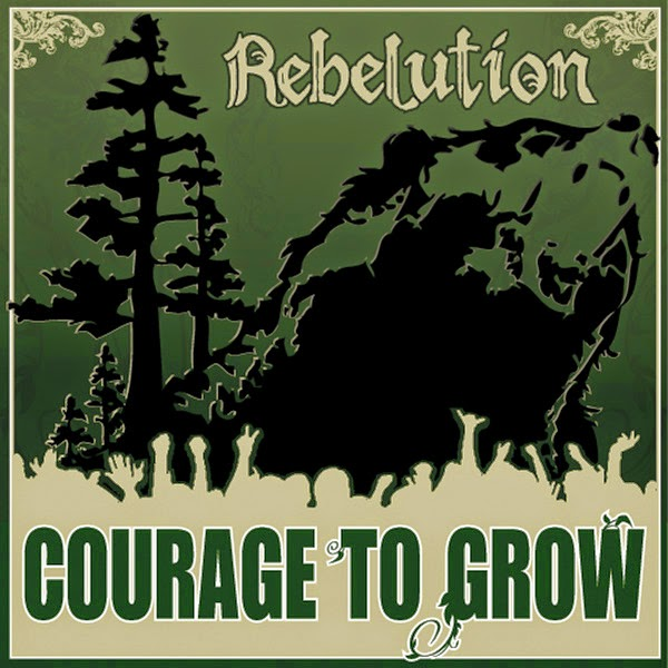 Rebelution - Courage to Grow Cover