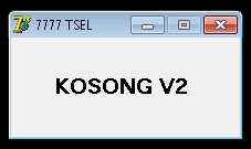 Inject Telkomsel Kosong V2 16 Oktober 2015