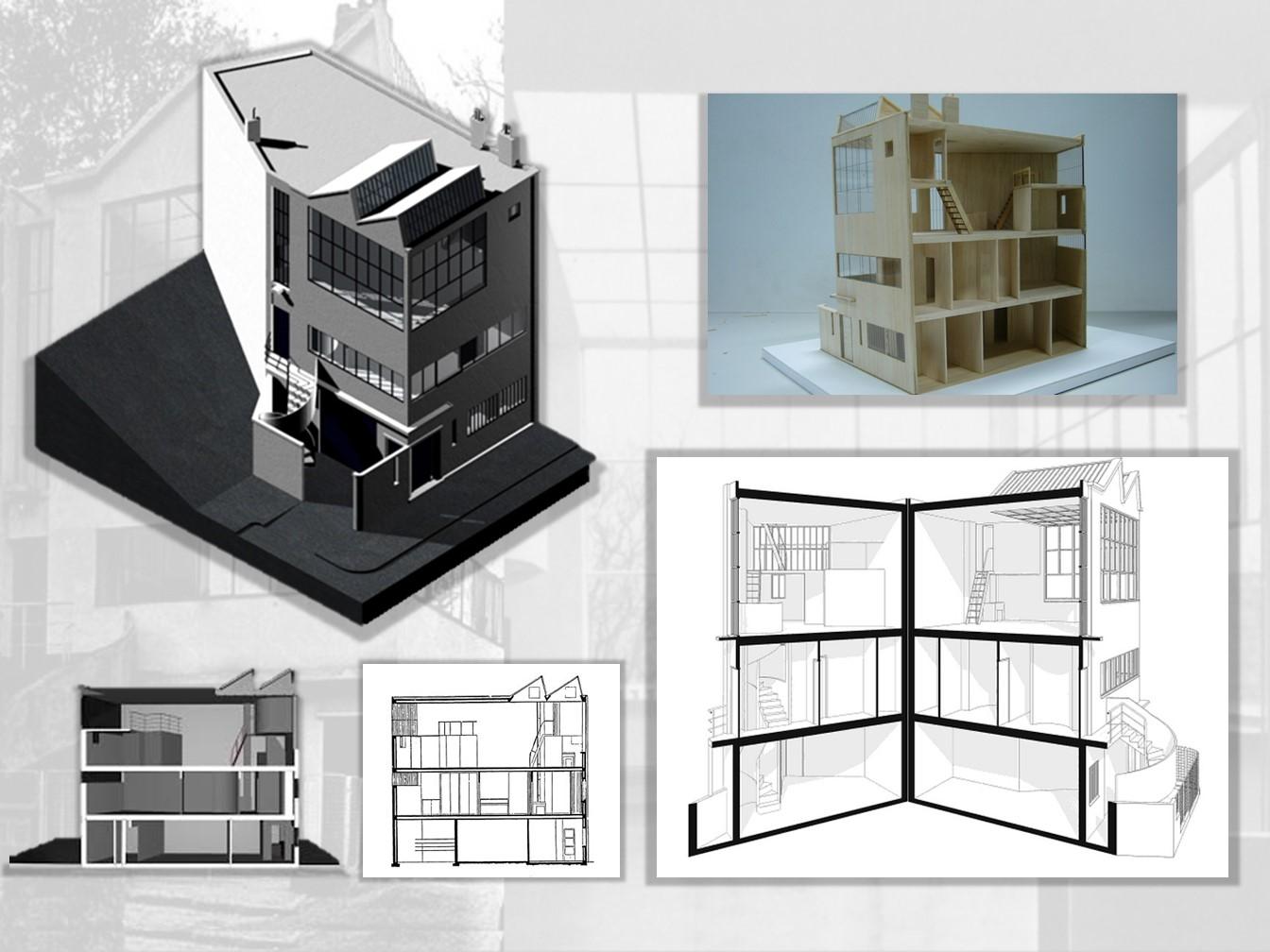 Eugenia ottonello an lisis de obra maison ozenfant le - Casas de le corbusier ...